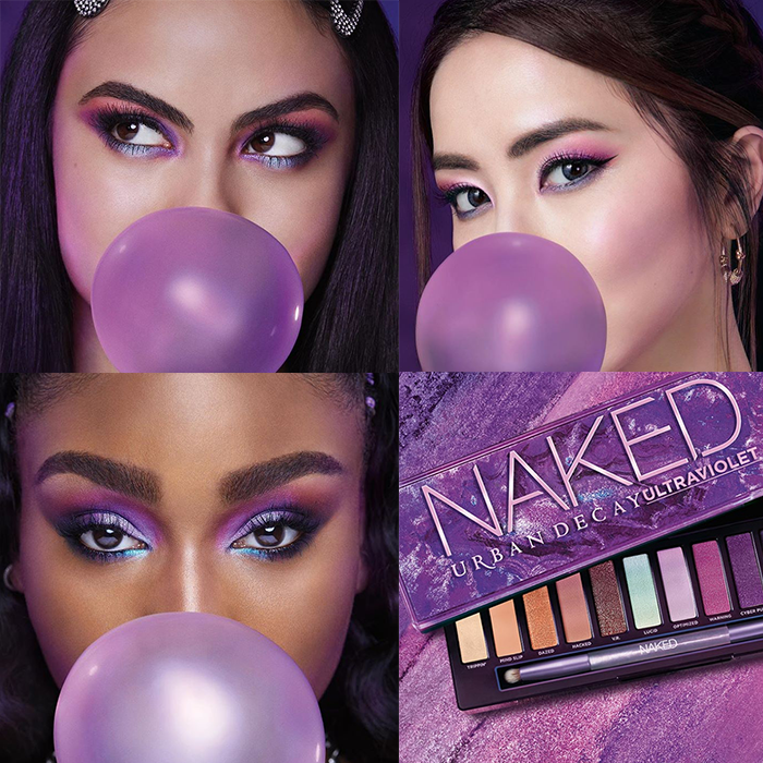 Urban Decay Naked Ultraviolet Eye Makeup Looks