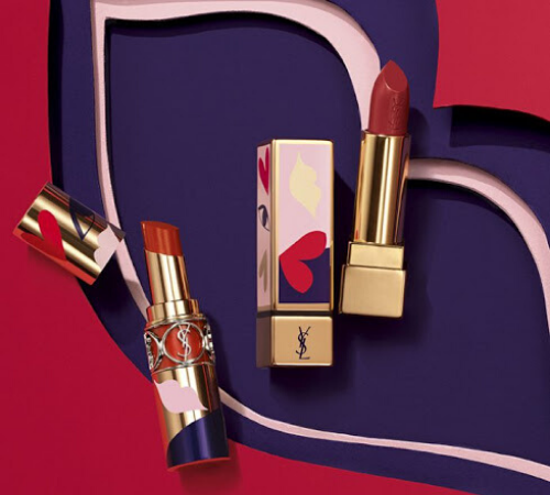 YSL Red Lipsticks