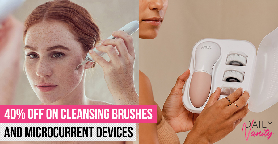 Where to get skincare devices at a steal, including cleansing brushes and facial steamers