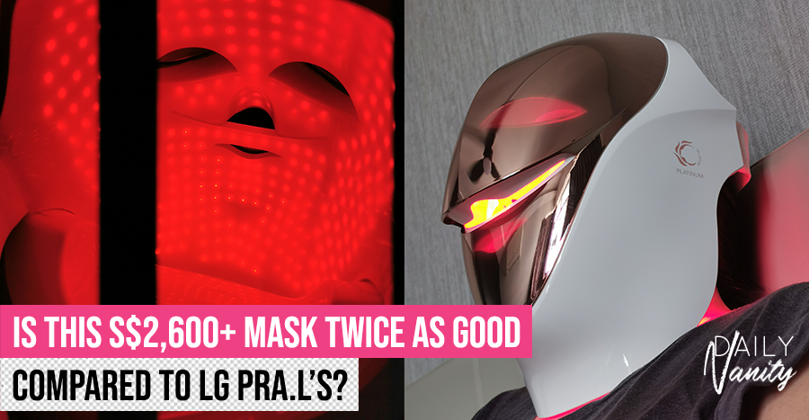 I tried an LED mask almost twice the price of the LG one and compared the two