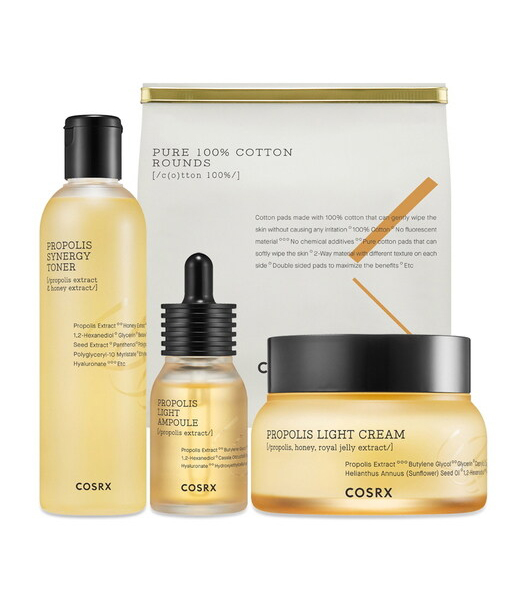 Korean Skincare Ingredient Guide Corsx Propolis Set