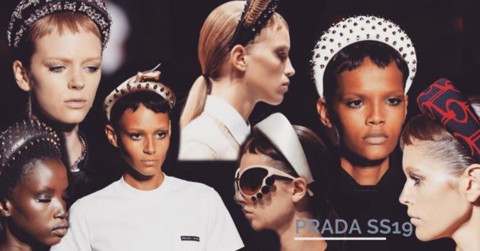 Padded Headbands Prada Ss19