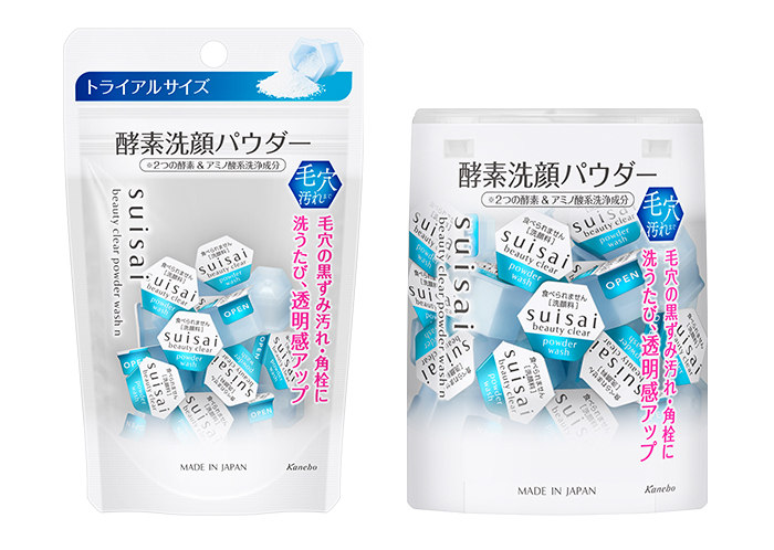 Suisai Cleanser New Packaging