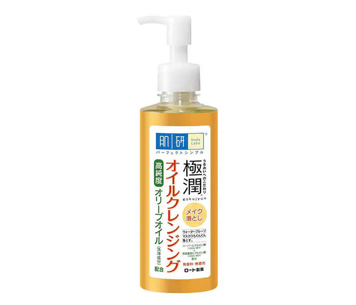 Yesstyle Top Asian Skincare Products Hada Labo Gokujyun Cleansing Oil