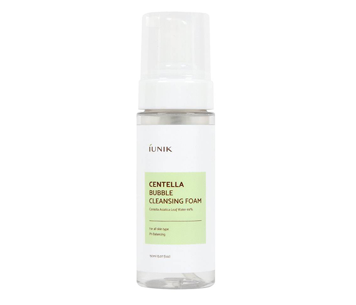 Yesstyle Top Asian Skincare Products Iunik Centella Bubble Cleansing Foam