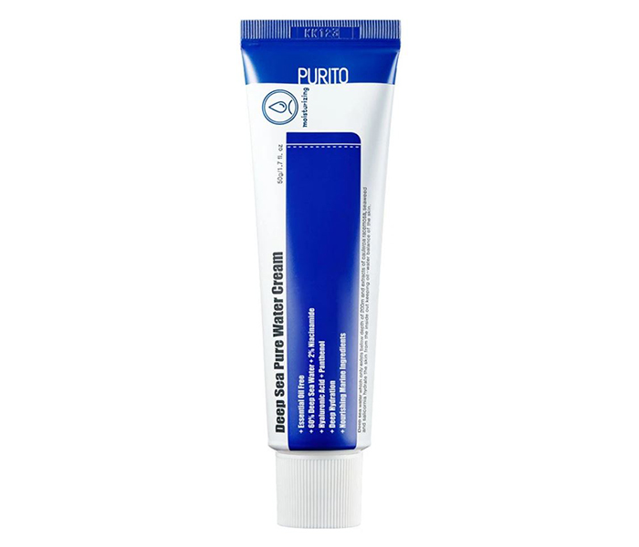 Yesstyle Top Asian Skincare Products Purito Deep Sea Pure Water Cream