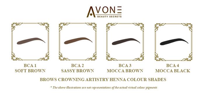 Avone Brows Crowning Henna