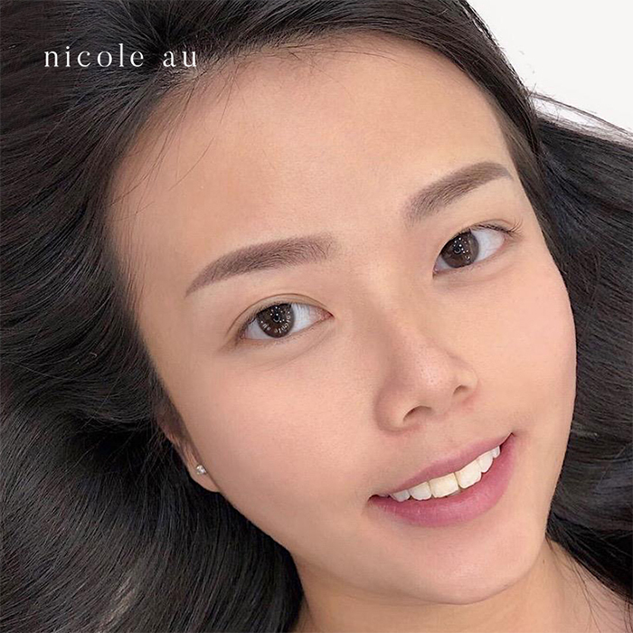 Best Brow Embroidery Nicole Au 6d Powder Ombre