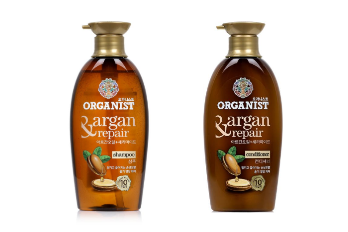 Organist Singapore - Ceramide Ingredient - Argan Repair Shampoo and Conditioner