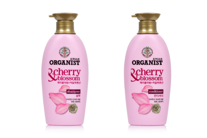 Organist Singapore - Hyaluronic Acid Ingredient - Cherry Blossom Shampoo and Conditioner