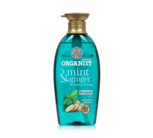 Organist Singapore - Panthenol Ingredient - Mint Ginger Shampoo