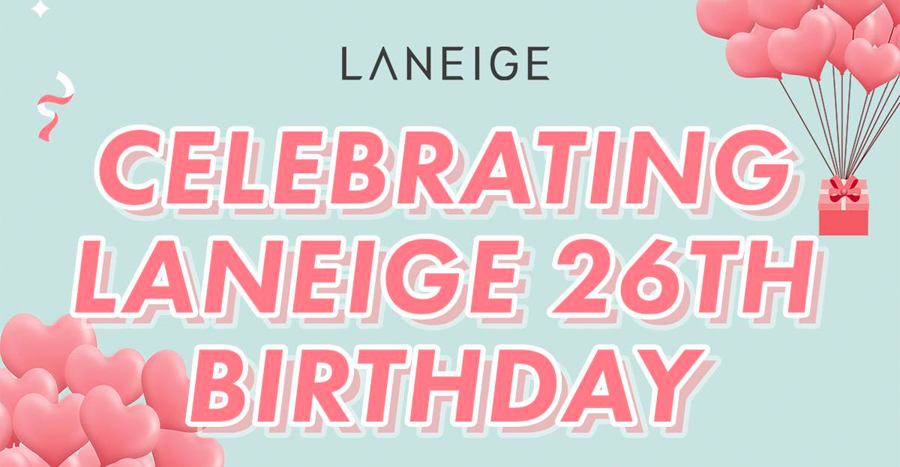 Laneige 26th Birthday