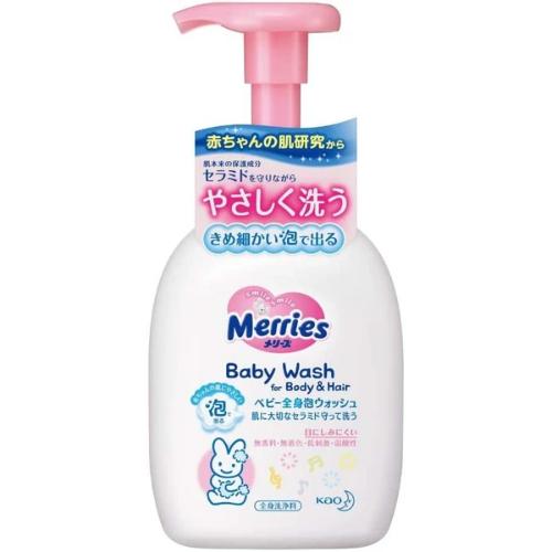 Merries Baby Foam Wash Body & Hair