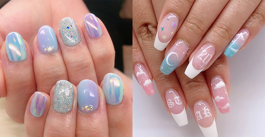 Mismatched nails are the latest celebrity trend and here's why you should hop on it, stat