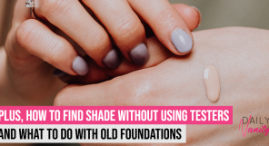 Find Foundation Shade Without Using Testers