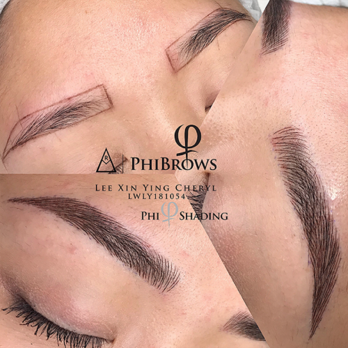 Best Brow Embroidery Salon Singapore The Beaute Canopy Revised Revised