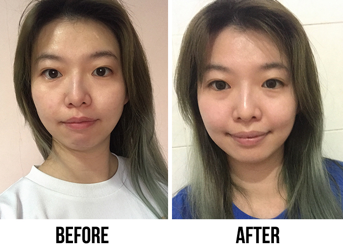 Neutrogena Hydro Boost Activating Essence Lotion Kristie Before After