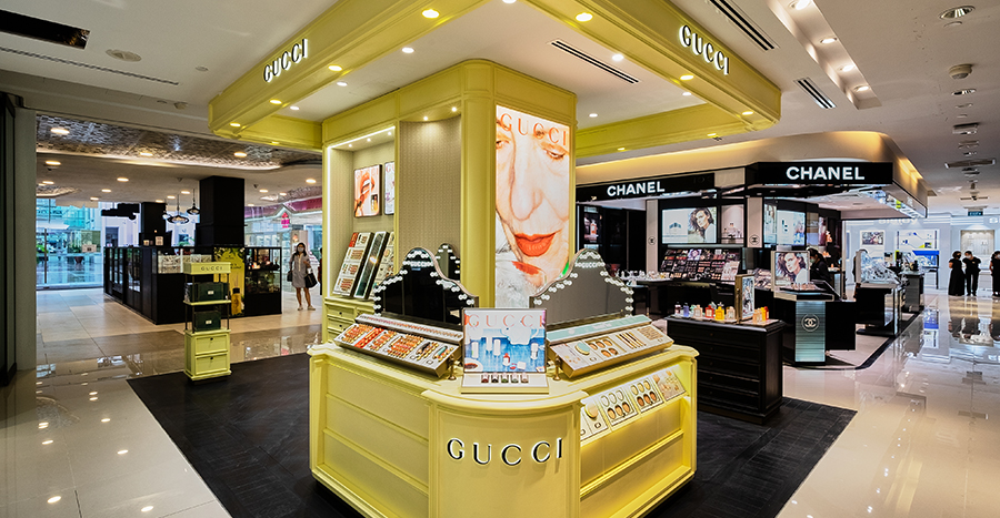 BHG Bugis has given its Beauty Hall a revamp! Take a tour with us and see what's new