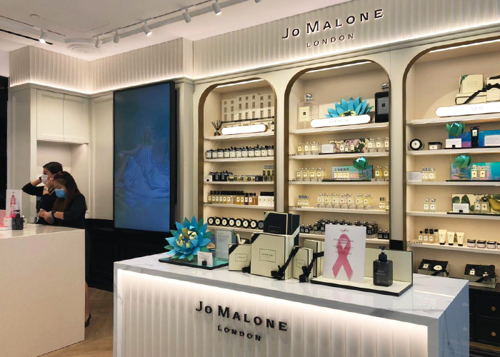 Bhg Bugis Beauty Hall Jo Malone Counter