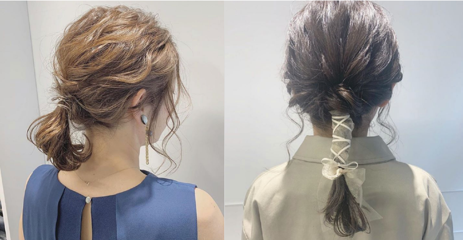 Elastic Cord Hairstyle