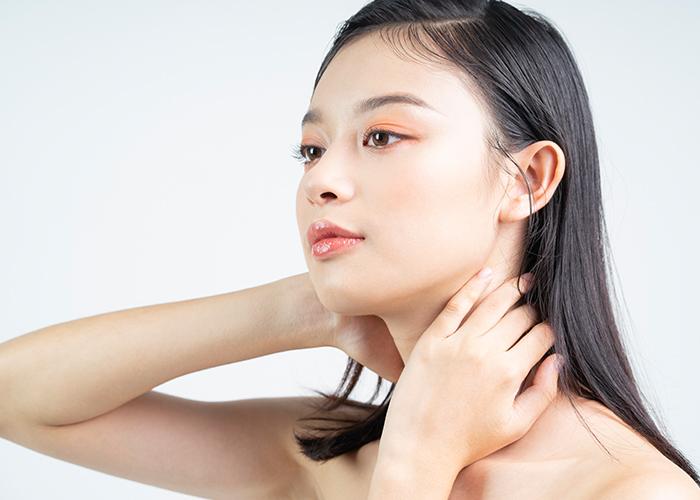 go hyun jung beauty secrets neck care