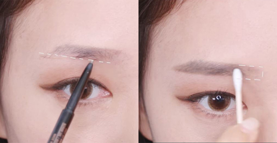 How to draw Korean brows and the best Korean brow products to use (2021 guide for beginners)