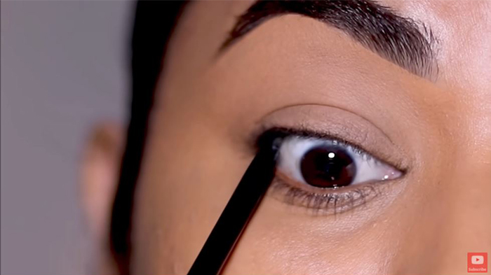 natural eyeliner hooded eyes tightlining 1