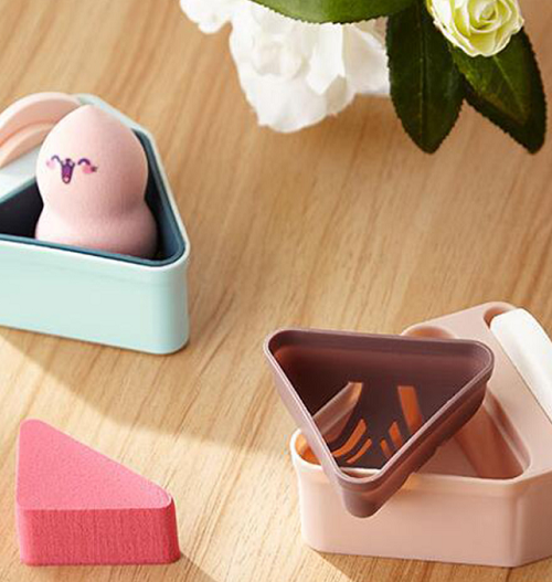 Biu Powder Puff Dustproof Portable Breathable Makeup Tool