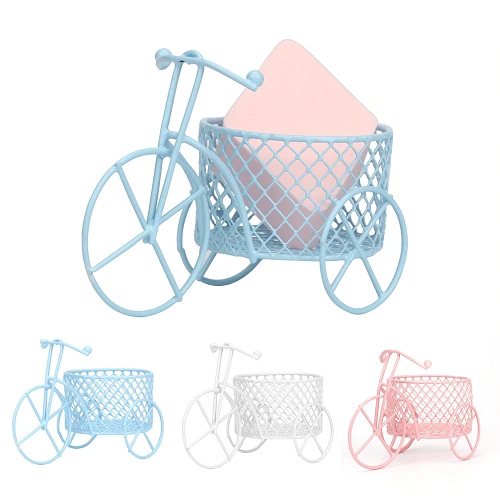 Stand Drying Holder Makeup Beauty Stencil Egg Powder Puff Bicycle Frame