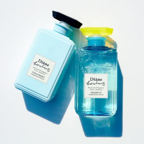Diane Bonheur Blue Jasmine Shampoo And Treatment Flatlay