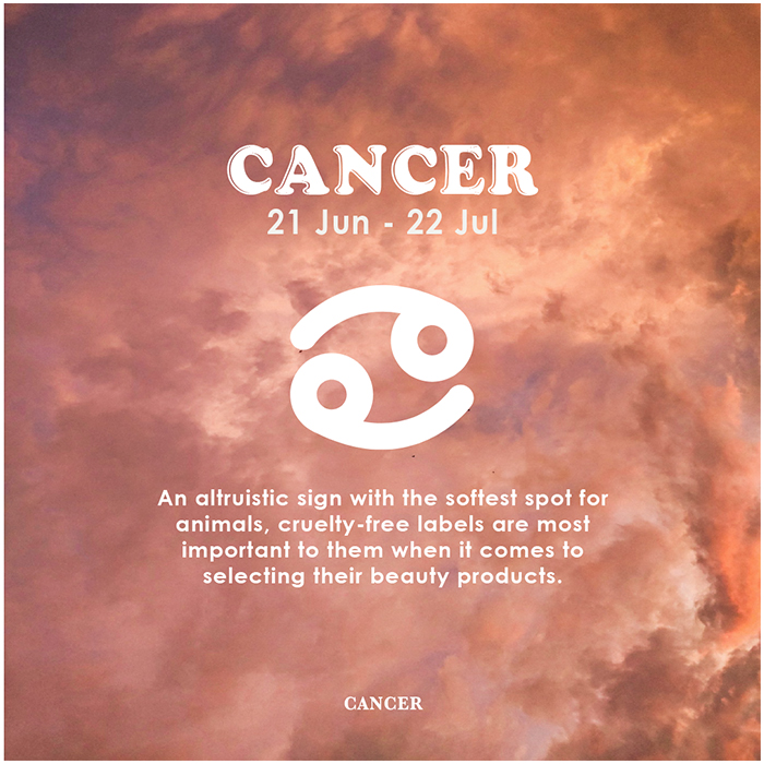 Horoscope Beauty Habits Cancer