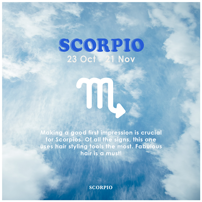 Horoscope Beauty Habits Scorpio