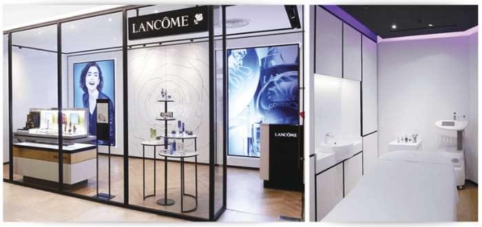 Lancome Beauty Institute Tangs