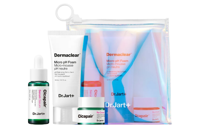 Dr.jart+ Essential To Go Skincare Kit