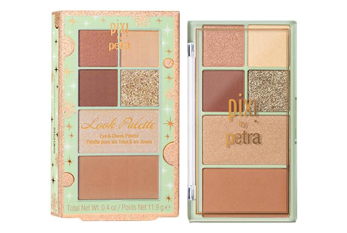 Pixi Look Palette Highlighter + Eyeshadow Palette