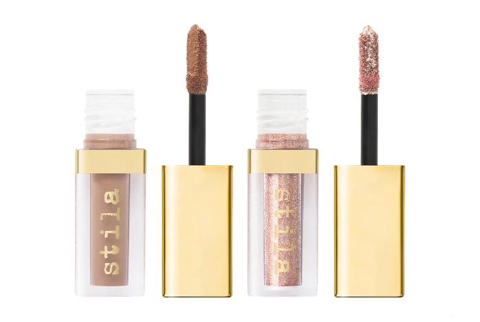 Stila Double Dip™ Suede Shade™and Glitter & Glow Liquid Eyeshadows