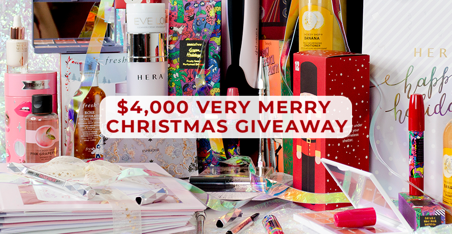 Win $4,000 worth of advent calendars & festive exclusives from Lancome, Kiehl's, Fresh, GHD & more!