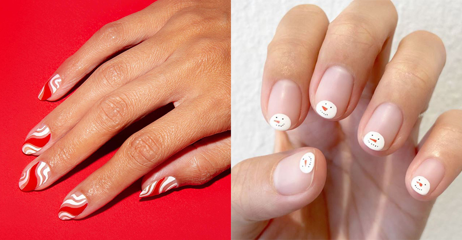 18 easy Christmas nail art designs to get you in the festive mood