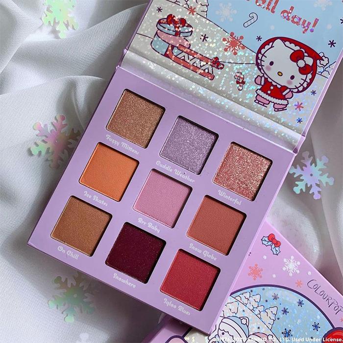 Colourpop Hello Kitty Holiday 2020 Eyeshadow Palette