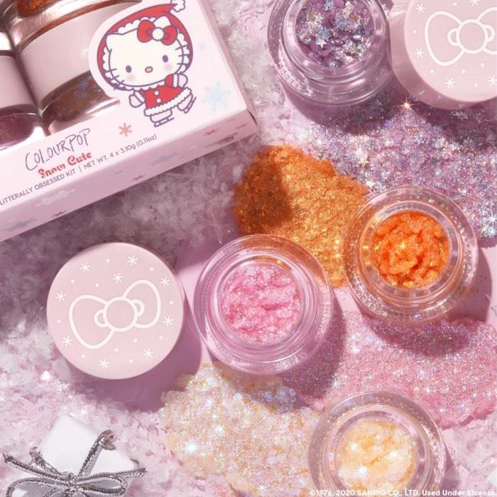 Colourpop Hello Kitty Holiday 2020 Gel Glitter