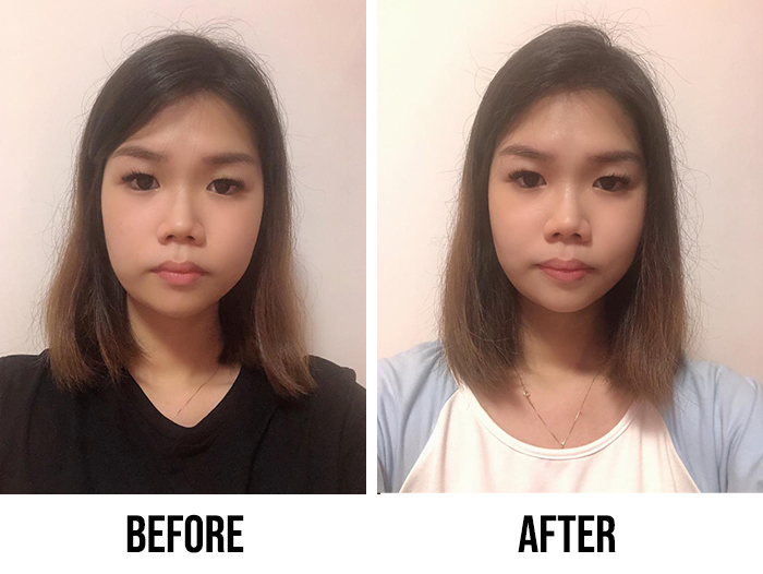 Innisfree Black Tea Youth Enhancing Ampoule Review Jerlyn Before After