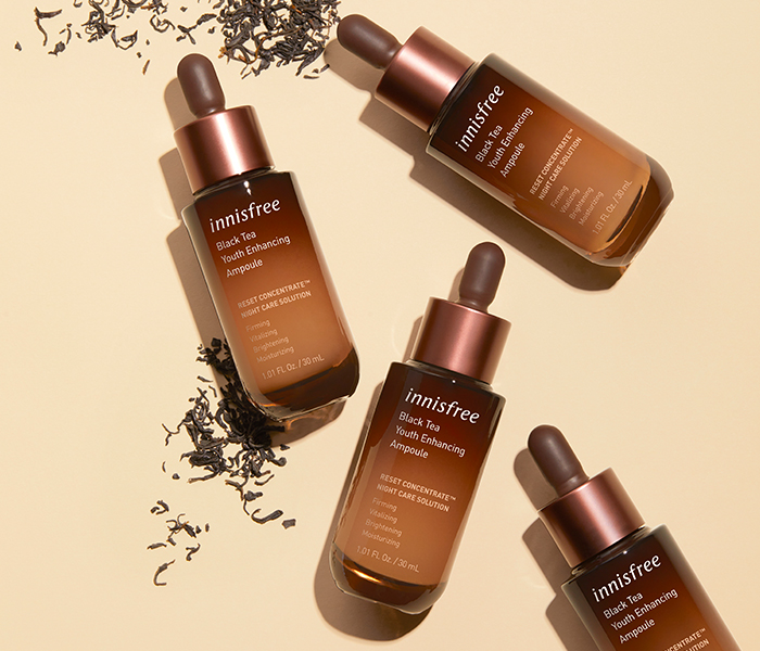 Innisfree Black Tea Youth Enhancing Ampoule Review Product