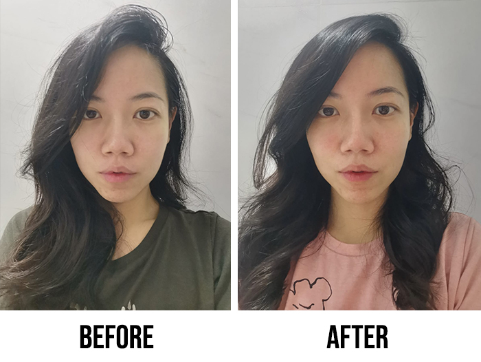 Innisfree Black Tea Youth Enhancing Ampoule Review Tiffany Before After
