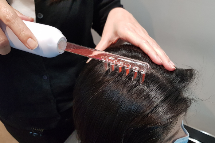 Retern Hair Review Treatment Step High Frequency Device