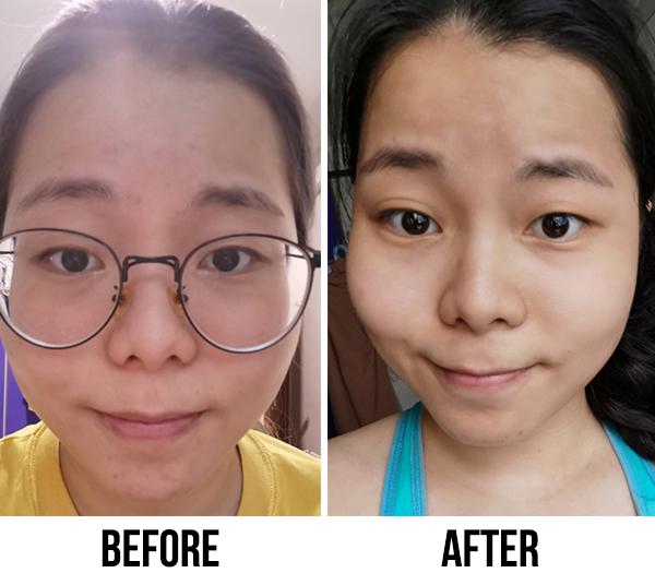 Sekkisui White Washing Cream Sharon Before After