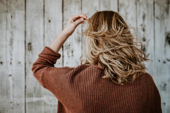 Woman Showing Back Of Hair Source Tim Mossholder Pexels