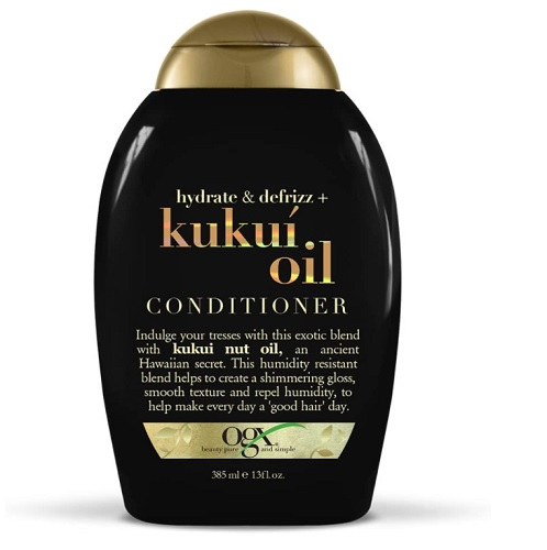 Hydrate & Defrizz + Kukui Oil Hair Conditioner By Ogx