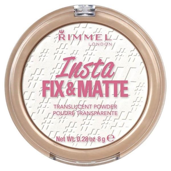 Rimmel Insta Fix & Matte Powder Translucent Setting Powder