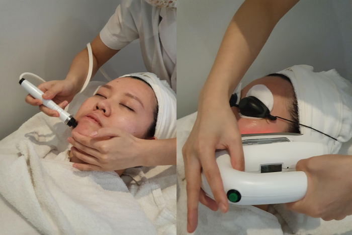 Best Brightening Facial Singapore Astalift Facial Steps Ams Ems Techologies