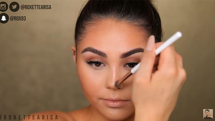 contour-highlight-nose-contour-blend